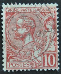 DYNAMITE Stamps: Monaco Scott #16 – USED