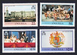 Anguilla 25th Anniversary of Coronation 4v SG#320-323 SC#315-318