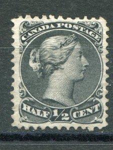 Canada #21iv Mint  VF spur variety  -  Lakeshore Philatelics