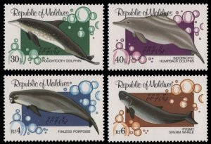 1983 Maldive Islands 1013-1016 Sea fauna 25,00 €