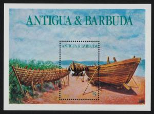 Barbuda 837 MNH Boat Building