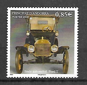 ANDORRA STAMPS. 2006, CAR AUTO FORD T, MNH