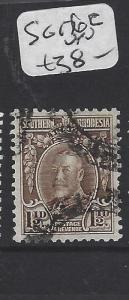 SOUTHERN RHODESIA  (P2407BB)  KGV 1  1/2D  SG 16C     VFU