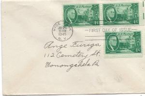 US #930 $0.01 Roosevelt FDC CV $5.00