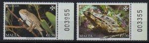 MALTA - 2021 - EUROPA - ENDANGERED FAUNA -