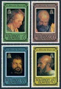 Solomon Isls 373-376,MNH.Michel 361-364. Albrecht Durer,450 death Ann.1978.