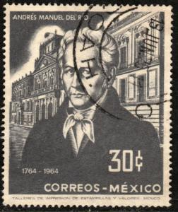 MEXICO 961, 200th Anniv bday Andres M del Rio-Mining School USED. VF. (1211)