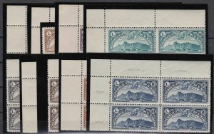 1931 San Marino  Views Aerea Di Mail Aerea N°1/10 Values I