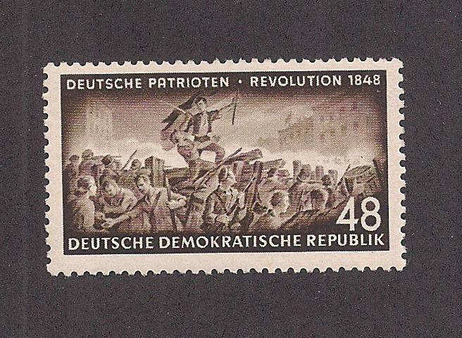 GERMANY - DDR SC# 185 F-VF OG 1953
