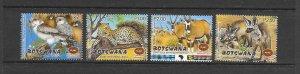 BOTSWANA #714-17 BIRDS & ANIMALS  MNH