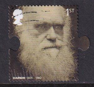 Great Britain   #2627  used  2009   Darwin 1st