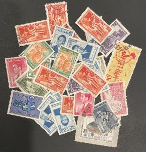Vietnam 31 Stamps Most Used