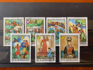 Mongolia 1981 International Decade for Women Set