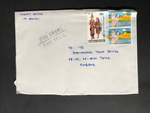 Indonesia #780//B242 Cover to Finland (1970-1999) Cover #6272