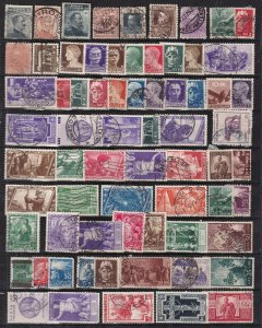 ITALY  ^^^^^LARGE   x70 used  collection    good  cat@@ dca 1324ital244