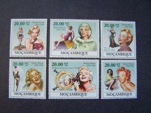 Mozambique 2009 Marilyn Monroe