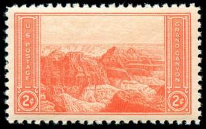 momen: US Stamps #741 Mint NH OG PSE Graded SUP-98