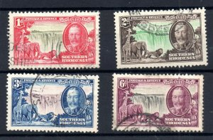 Southern Rhodesia 1935 Silver Jubilee fine used set SG31-34 WS18721