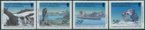 South Georgia 1989 SG191-194 Combined Services Expedition set MNH
