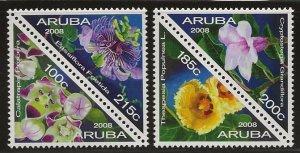 ARUBA  SC #   333 - 4   MNH