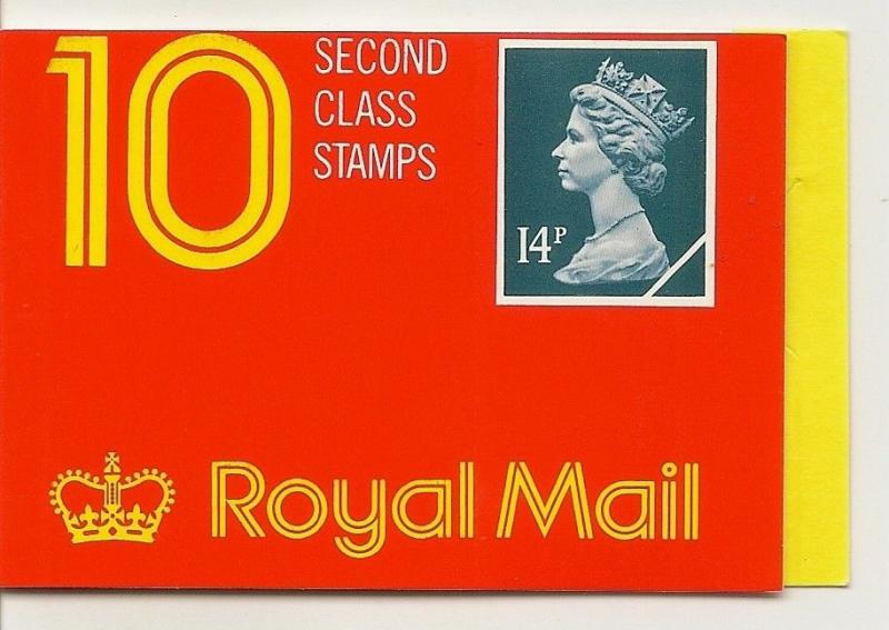 GB 1988 £1.40 GK3 Barcode Booklet