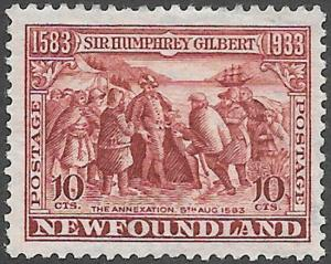 Newfoundland Scott Number 220 FVF H