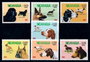 [65580] Nicaragua 1982 Dogs  MLH