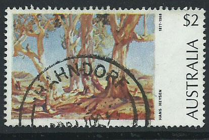 Australia SG 566 Very Fine Used  interesting cancel