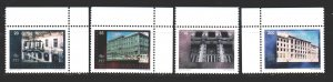 Bosnia and Herzegovina. 1995. 13-19 from the series. Post Buildings in Saraje...