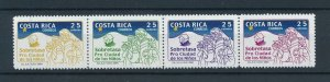 [104174] Costa Rica 2004 Postal tax children's village Christmas 3 Kings  MNH