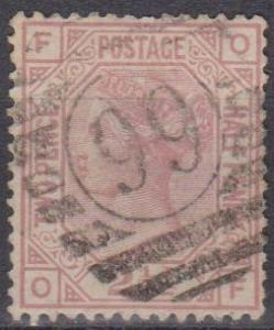 Great Britain #67 Plate 8 F-VF Used CV $52.50 (A10096)