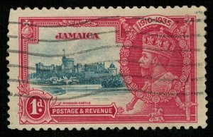 Jamaica, 1D., King George V, 1935, SG #114 (T-7342)