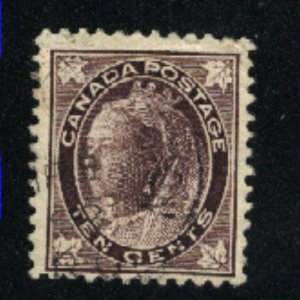 Canada #73  used  VF 1897   PD