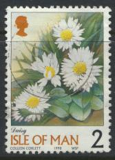 Isle of Man SG 774   Used  Daisy  see details