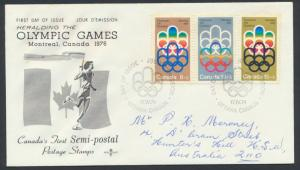 FDC  SG 772 / 774 SC# B1 - B3  SPECIAL - please read details - Olympics