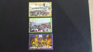 St Lucia 2001 The 10th Anniversary of Jazz Festival Mint