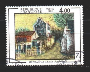 France. 1983. 2422. Paintings. USED.