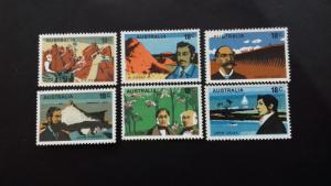 Australia 1976 Australian Explorers Mint