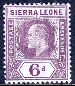 Sierra Leone - Scott #98 - MH - SCV $10.00
