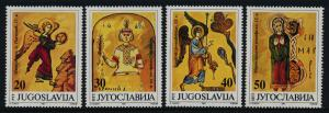 Yugoslavia MNH 2123-6 Illustrations From Ancient Manuscripts