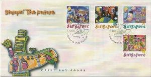 Singapore 2000 Stampin' the Future, children's stamp design competi...