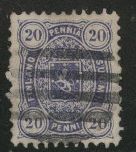 FINLAND SUOMI Scott 21 Used perf 11 stamp