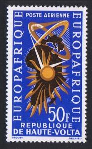 Upper Volta Foundation of EUROPAFRIQUE 1v SG#138 SC#C11 MI#141