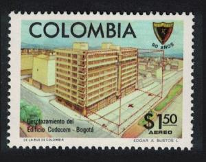 Colombia 90th Anniversary of Society of Colombian Engineers 1v SG#1437