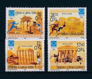 [54745] Yugoslavia 2004 Olympic games Athens Athletics MNH