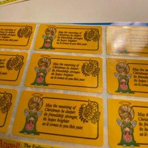 Vintage Epilepsy Foundation charity stickers stamps seals cinderellas