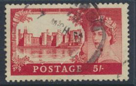 Great Britain SG 537   Scott 310   Parcel cancel Used  SPECIAL 5% cat