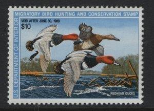 US, RW54, 1987, MNH, DUCK STAMP