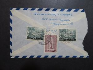 Greece 1948 Airmail Cover to USA (I) - Z8624
