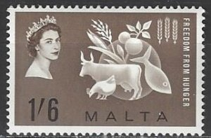 Malta  291  MNH  FAO  Freedom From Hunger Campaign